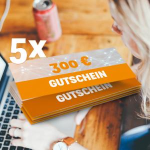 300 EUR OscWare Gutschein